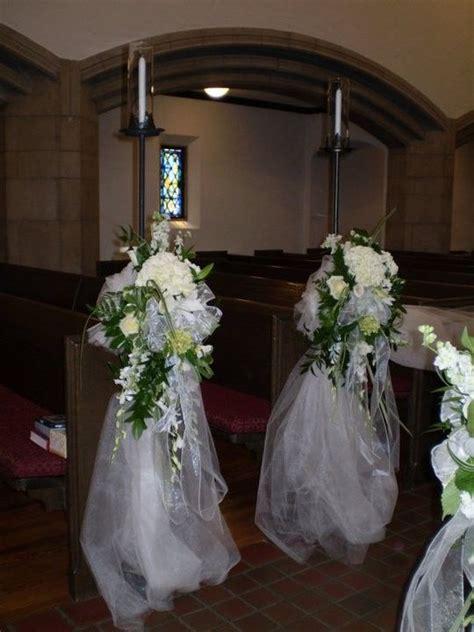 Church Wedding Decor Wedding Chair Decorations Church