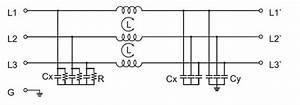 20a Emi  Rfi Power Line Filter  3 Phase