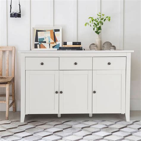 Sideboards For Living Room by Aingoo Large Space White Minimalist Modern Sideboard