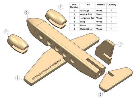 easy wood toy patterns passenger plane kids toy plan parts list   love pinterest