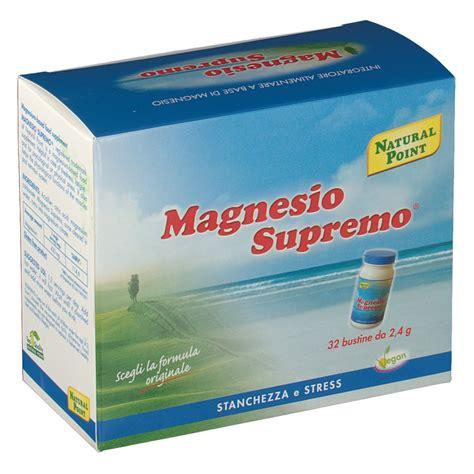 magnesio supremo farmacia magnesio supremo 174 bustine shop farmacia it