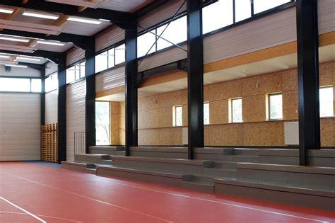 salle de sport st michel sur orge larch 233 metzger agence d architecture