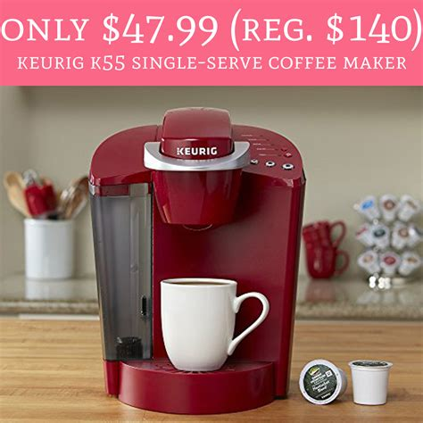 I show you how to use. HOT! Only $47.99 (Regular $140) Keurig K55 Single-Serve Coffee Maker - Deal Hunting Babe