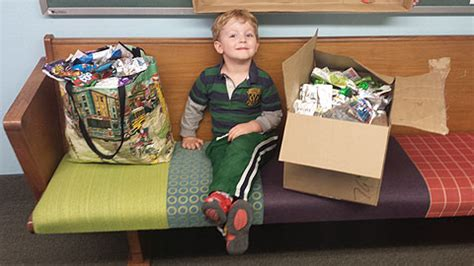 preschoolers learn the benefits of recycling 762 | Caleb and recycle