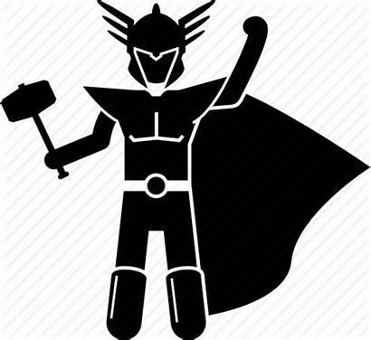 Norse Thor Hammer Mythology God Icon Mjolnir
