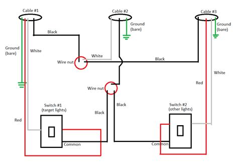 Pool Wire Diagram 3 by Stuck Midway Through Converting 3 Way Switches To Dimmers