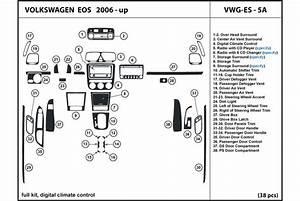 2009 Volkswagen Eos Dash Kits