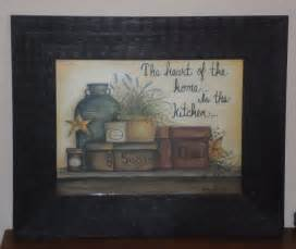of the home framed country kitchen pictures