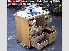 Free Router Table Plans Norm Abrams router table Shops