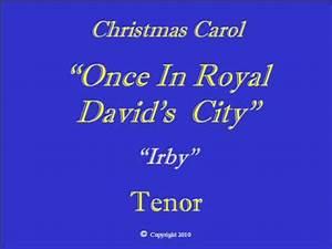 Once In Royal Davids City - Tenor.wmv - YouTube