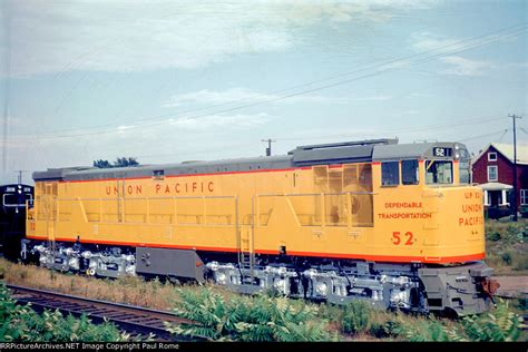 UP 52, GE U50, NEW at the GE plant Description: UP 52, GE ...