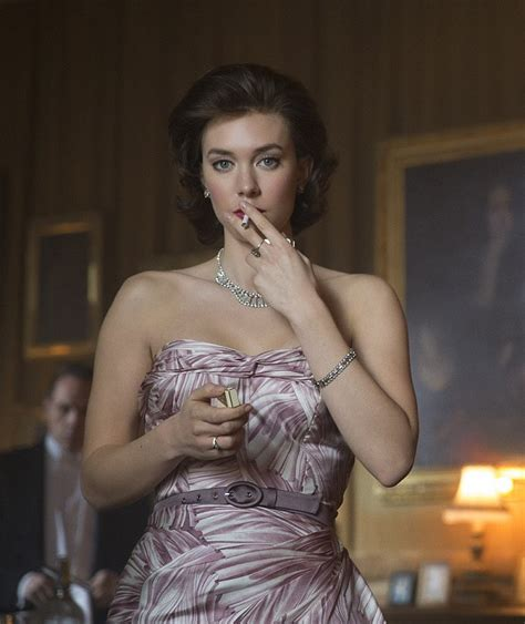 very hot videos netflix the crown actress says princess margaret remained bitter