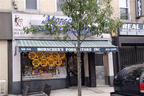 morschers pork store  multicultural meat shop