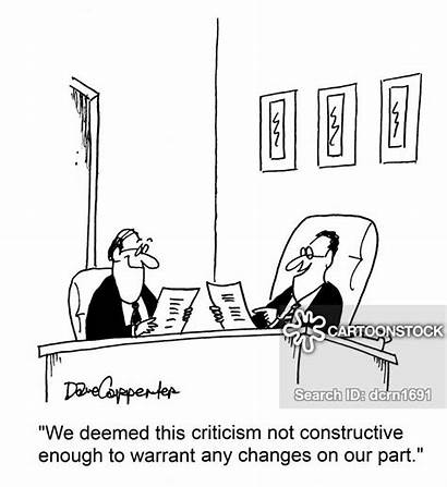 Constructive Cartoon Critic Cartoons Funny Criticism Ceo