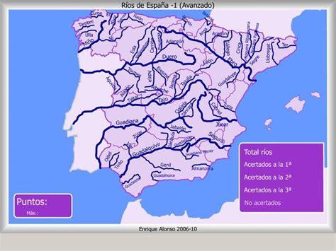 Mapa Interactivo De España Ríos De España ¿dónde Está