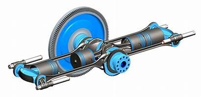 Engine Opoc Opposed Piston Innovative Cylinder Architecture