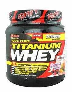 100  Pure Titanium Whey By San Nutrition  448 5 Grams