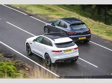 Jaguar FPace vs Porsche Macan luxury SUVs compared