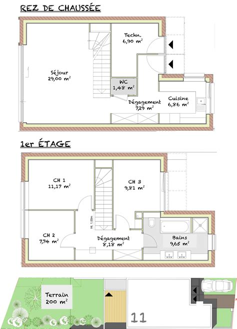 plan villa moderne 200m2 28 images plan 4 maison satellite koh samui demeures caladoises
