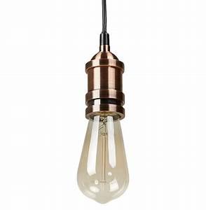 Lampe Vintage Look : soquet pour lampe golden lady style vintage suspension ~ Sanjose-hotels-ca.com Haus und Dekorationen