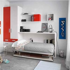 Petite Chambre Ado : lit ado petite chambre secret de chambre ~ Mglfilm.com Idées de Décoration