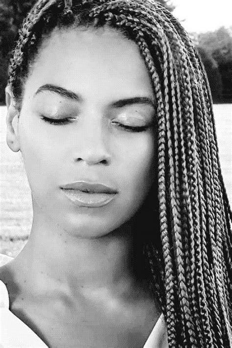 Beyonce | Braided hair in 2019 | Beyonce braids, Beyonce ...