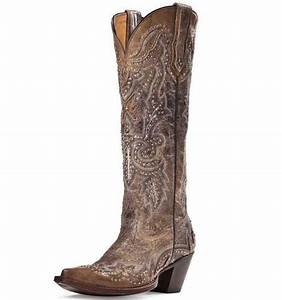 """Johnny Ringo 15"""" Tall Cowgirl Boots from Sagrada"""