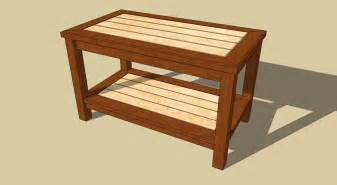 woodworking plans for small table