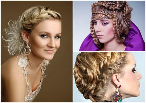 Schöne Frisuren Für Mittellanges Haar Flechten Frisur