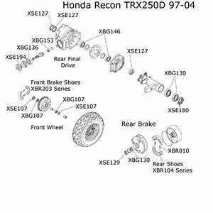 Honda Recon Parts Diagram