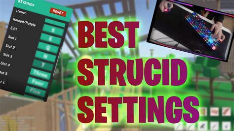 strucid keybinds  settings   youtube