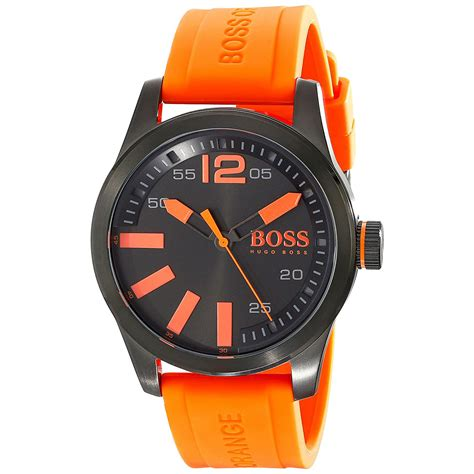 Hugo Boss Orange Watch with black stainless steel and
