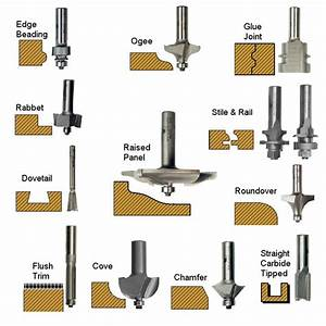 Wood Shaper Profiles - DIY Woodworking Projects