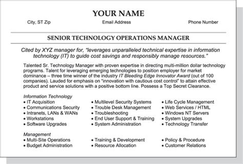 Summary Section Of Resume by Resume Skills Section