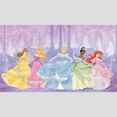 Disney Perfect Princess Wall Mural By Roommates Midsize