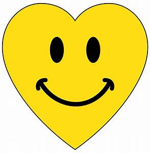 Heart With Smiley Face - ClipArt Best