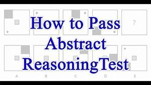 How To Pass Abstract Reasoning Test With Test Questions