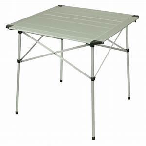 10t alutab light camping tisch 70x70cm mit for Camping tische