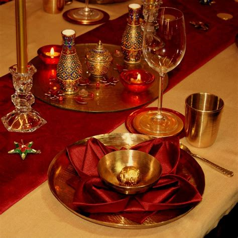table settings diwali decorations diwali decorations