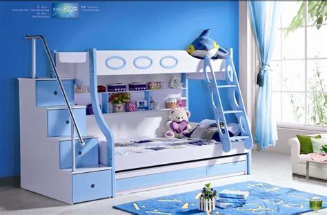 3pcs mdf panneaux lit superpos 233 enfants avec escaliers et