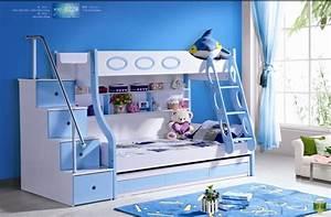 Lit Superposé Escalier : 3pcs mdf panneaux lit superpos enfants avec escaliers et ~ Premium-room.com Idées de Décoration