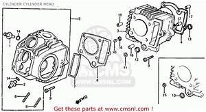 Honda Z50r 1982  C  Usa Cylinder Cylinder Head