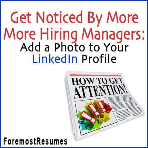 How To Get Your Resume Noticed On Linkedin by Linkedin Profile Picture Tips To Get Your Profile Noticed