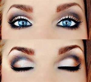 How to Make Blue Eyes Pop  Step by Step