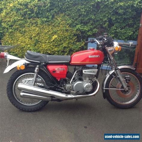 1976 Suzuki Gt550 by 1976 Suzuki Gt550 For Sale In The United Kingdom