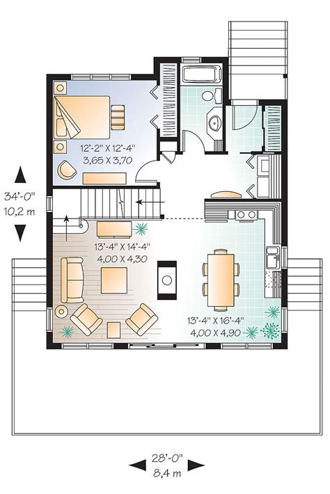 vacation home floor plan  bedrm  sq ft plan