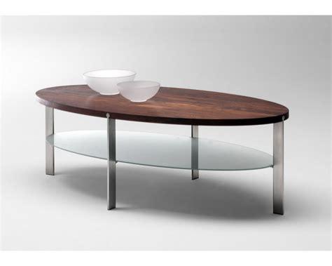 ak  ovalt sofabord med massiv bordplade fra naver