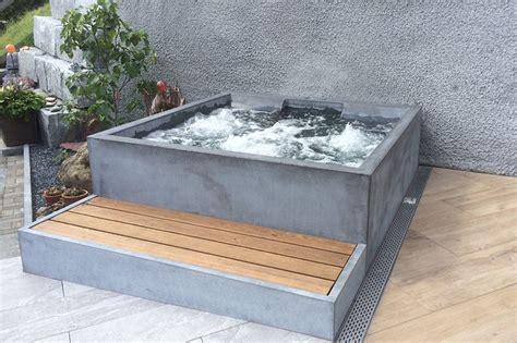Whirlpool Garten Ebenerdig by Beton Whirlpool Concrete Hotstone Outdoor In