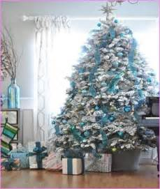 blue and silver tree decorating ideas designcorner