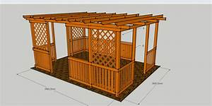 Sonnenschirm Rechteckig 3 X 4 : pergoly hobby 3x4 m vetas ~ Frokenaadalensverden.com Haus und Dekorationen
